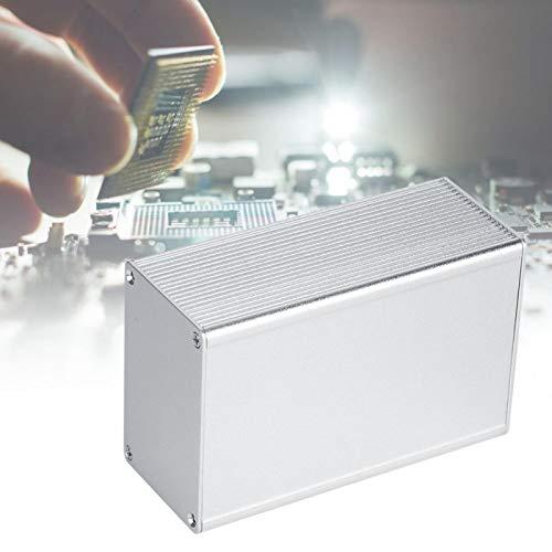 Caja de proyecto, accesorios de carcasa, carcasa de disipación de calor, caja eléctrica, 43x66x100 mm para placa de circuito GPRS, placa de circuito impreso