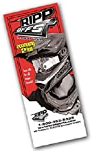 Tear-offs for 100% Racecraft / Accuri by Ripp-offs HRP Sports 20-pack 2MIL