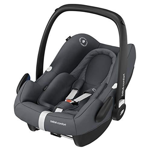 Bébé Confort Cosi Rock i-Size, Siège Auto Bébé Groupe 0+, ISOFIX, Dos à la route, Naissance à 12 mois (0-13 kg), Essential Graphite (gris)