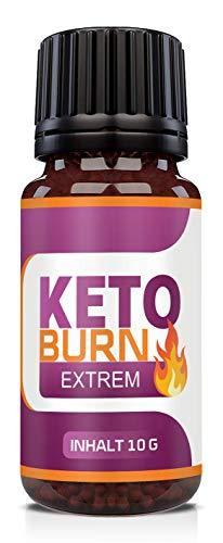 Adema Nutrition® KETO BURN Globuli - hochdosiert für Männer und Frauen radionisch informiert mit Garcinia Cambogia und Acai Beere - EXTREM - Kur – Stoffwechsel