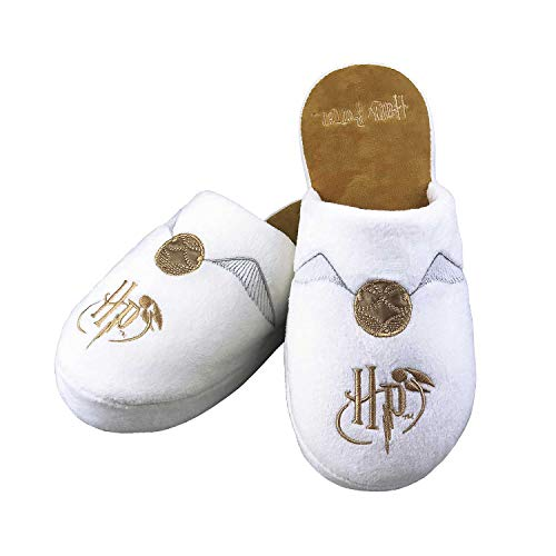 Groovy Harry Potter Slippers Golden Snitch