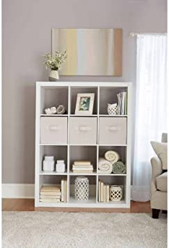 Better Homes and Gardens 12-Cube Organizer and Merry Storage Bundle