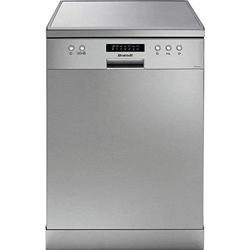 Brandt DFH13217X Lave Vaisselle couverts13 place_settings 47 decibels Classe: A++ Inox