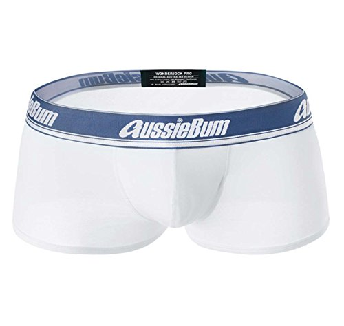 AussieBum Herren Boxershorts WONDERJOCK PRO, weiß