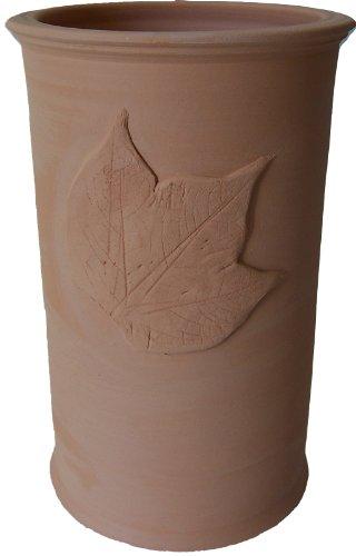 Töpferei Annett Fischer WKü2 Weinkühler Keramik terracotta Weinkühler handgetöpfert Höhe 21 cm Durchmesser 13 cm Volumen 1,4 l