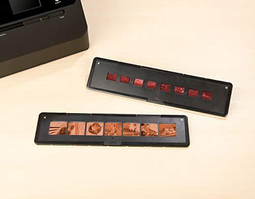 Somikon Zubehör zu Photo- & Diascanner: 2 Negativfilm-Halter für 3in1-Foto-Scanner SD-1600, Filmtyp 110 & 126 (Foto- und Diascanner)