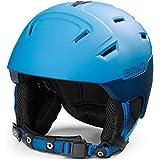 Briko Storm 2.0 Casco de esquí/Snow, Adultos Unisex, Matt Blue Planet-Blue Space, 56-58 cm