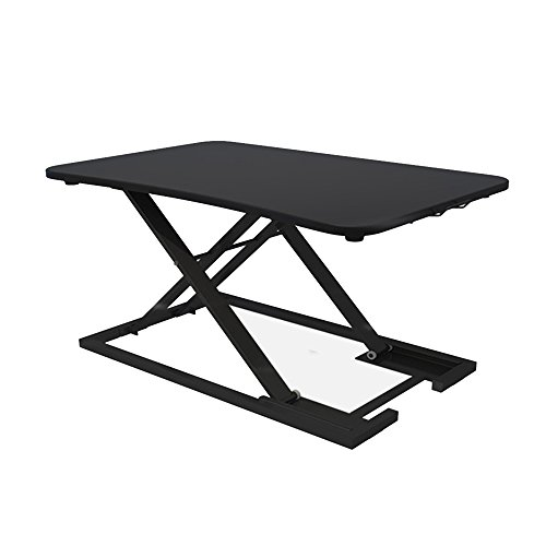 MS tables Stand-up Office Computer Desk Folding Table Liftable Notebook Stand Bracket Work Station Stand Office Table Mobile Desk Simple And Modern Stand-up Desk Lazy Desk Release The Spine Stand A Co