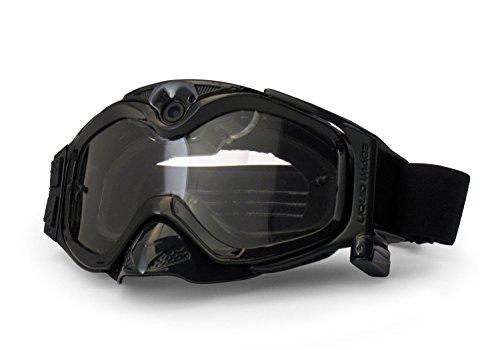 Liquid Image All-Sport 720p Sportbrille mit Kamera (5 Megapixel, 32GB Kartenslot, USB 2.0) schwarz