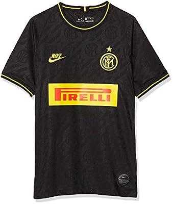 Nike 2019-20 Inter Milan Third Jersey - Black-Yellow L