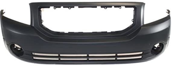 Go-Parts - OE Replacement for 2007 - 2012 Dodge Caliber Front Bumper Cover (CAPA Certified) CH1000870C CH1000870C Replacement For Dodge Caliber