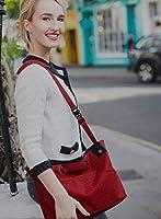3WAY ストローラー オーガナイザー 【特許出願中】 LITTA GLITTA(リッタグリッタ) ベビーカー用バッグ 小物入れ(Red)
