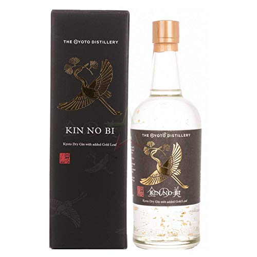 Kinobi Kin No Bi Kyoto Dry Gin With Added Gold Leaf 45,7% Vol. 0,7L In Giftbox - 700 ml