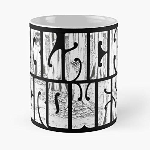 Lapuan Kankurit Rock Music Band Logo Legend Crowes Best International Popular Name Black The La Mejor Taza de café de cerámica Blanca de 11 oz