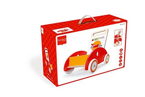 Scratch 6181432 - Lauflernwagen Racer, 45 x 45 x 31 cm