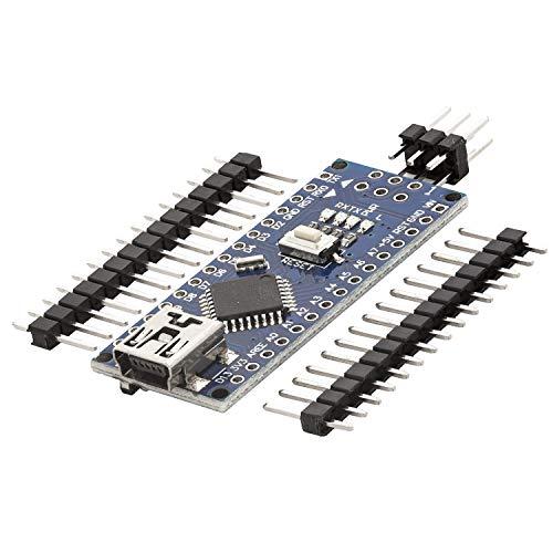 AZDelivery Nano V3.0 mit Atmega328 CH340 100% Arduino kompatibel mit Nano V3 inklusive E-Book!