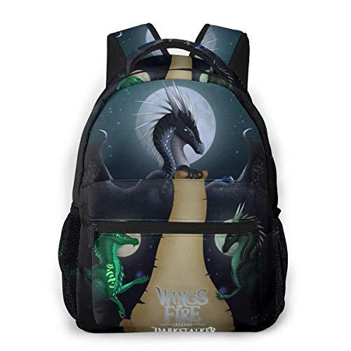 IUBBKI 3D Print Darkstalker Casual Backpack,Multifunctional Schoolbag Knapsack Rucksack