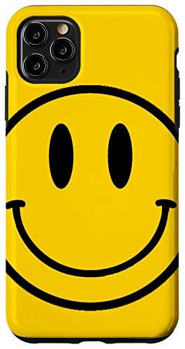 iPhone 11 Pro Max Retro Happy Face - Vintage Smiley Face Case