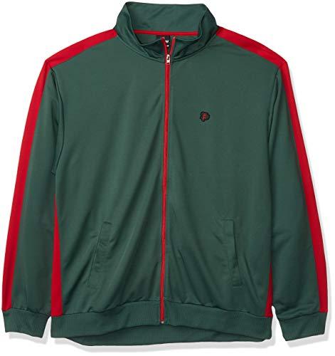 SOUTHPOLE Herren Full-zip Athletic Track Jacket Jacke, grün, Small