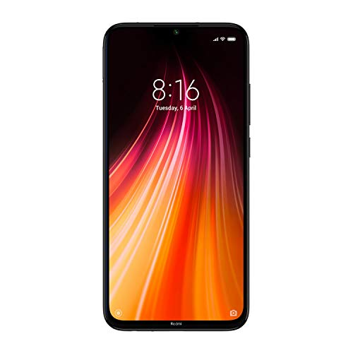 Redmi Note 8 (Space Black, 6GB RAM, 128GB Storage) - Upto 6 Months No Cost EMI
