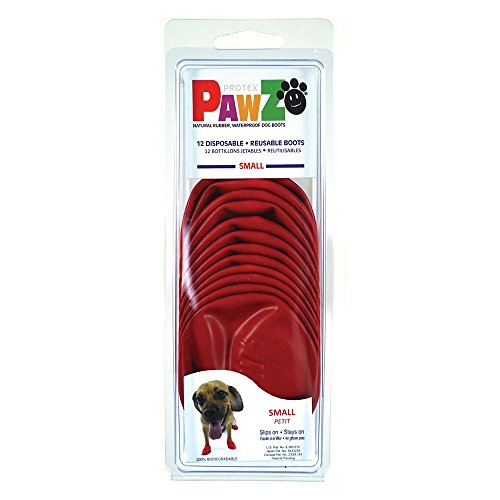 Small - Pawz Durable All Weather Dog Boots
