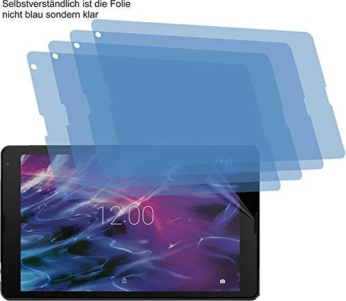 4ProTec I 4X Schutzfolie MATT passexakt für Medion Lifetab E10430 - Displayschutzfolie Schutzhülle