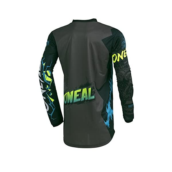 Cycling Jerseys O'Neal   Motorcycle-Jersey   Enduro Motocross   Fit for Maximum Freedom of Movement, Sewn-in Elbow Protection…