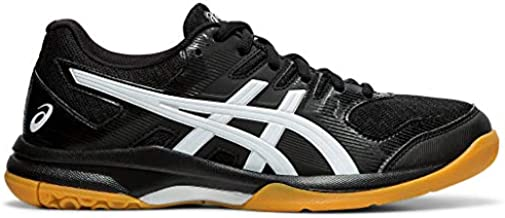 ASICS Women's Gel-Rocket 9 Volleyball Shoes, 7M, Black/White