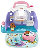 Fisher-Price Little People Cuddle & Play Nursery, Portable Nursery Playset for Toddlers and Preschool Kids Up to Age 5