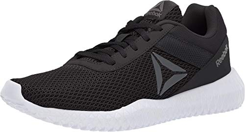 Reebok Women's Flexagon Energy TR, Black/True Grey/White, 9 M US