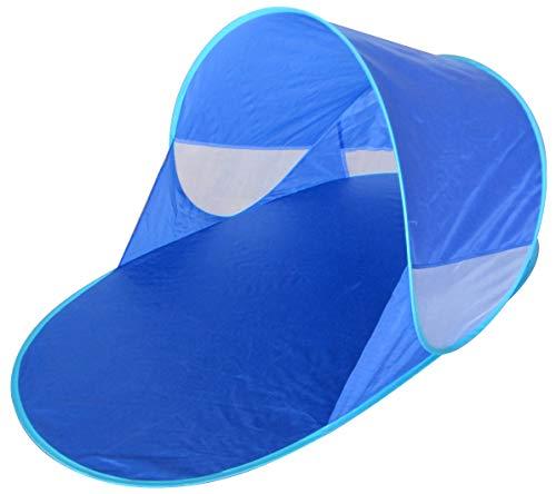Kiddus Tienda Carpa Refugio de Playa. 100% Proteccion Rayos UV, Pop up automontable y Plegable. Paravientos. Tela Muy Ligera, Ideal para Proteger del Sol niños y Bebés (Tienda Carpa)