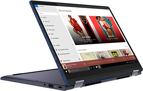 Lenovo Yoga 6 13.3 2-in-1 13.3' Touch Screen Laptop - AMD Ryzen 5 - 8GB Memory - 256GB SSD - Abyss Blue Fabric Cover