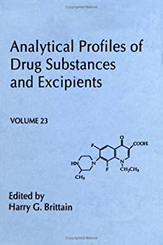 Hardcover Analytical Profiles of Drug Substances and Excipients, Volume 23 (Analytical Profiles of Drug Substances & Excipients) Book
