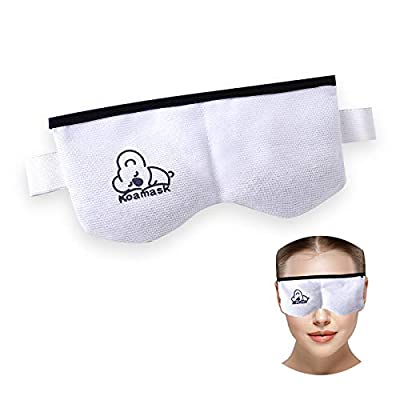 Amazon - 50% Off on Eye Mask for Dry Eyes, Moist Heat Eye Compress Relieves Style