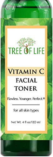 Flawless. Younger. Perfect. La vitamina C Tonico viso Pore Minimizzare Rejuvenator (4 once)