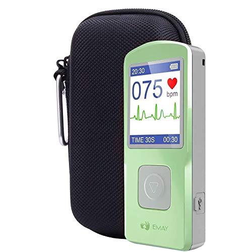 41CXrg4JH5L - HEALTHWOOD Portable ECG/EKG Monitor Heart