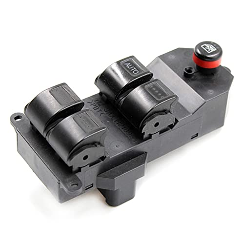 KUANGQIANWEI 35750-SAE-P03 2001-2005 Fit para Honda Civic Electric Power Window Master Switch 1400 35750SAEP03 35750S5AA02ZA 35760-S9A-G042A (Color : Left Hand Drive)