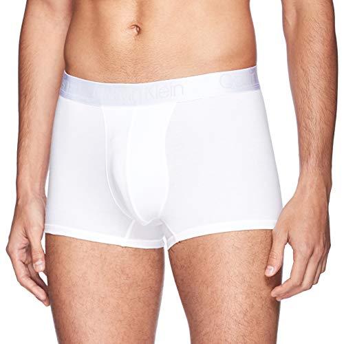 Calvin Klein Underwear Men - White cotton modal luxe boxer briefs - Size S