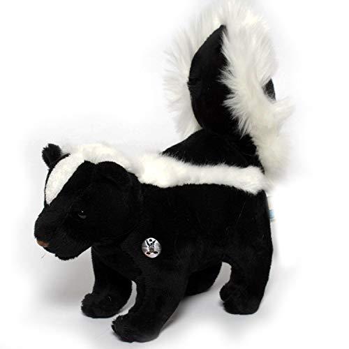 Kuscheltiere.biz Stinktier FUNKEY Skunk 21 cm Plüschtier