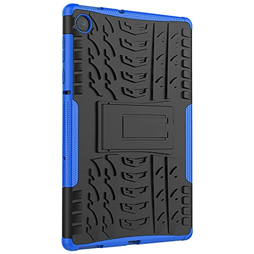Adecuado para Lenovo Tab M10 Plus deslumbrar TPU a prueba de golpes anti-caída PC soporte conjunto plano Lenovo X606 carcasa protectora azul Lenovo Tab M10 FHD10 PLUS 10 pulgadas / X606