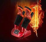 GJJSZ Cuire Les Chaussures Sèche-Linge Stérilisateur Détachable Portable Électrique Sèche-Chaussures Réchauffeur Botte Odeur Pied Déodorant Réchauffeur 110 V 220 V