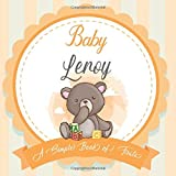 Baby Leroy A Simple Book of Firsts: A Baby Book and the Perfect Keepsake Gift for All Your Precious First Year Memories and Milestones