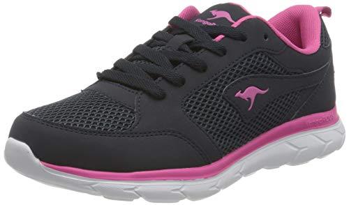 KangaROOS Damen KN-Rimble Sneaker, dk navy/daisy pink, 40 EU