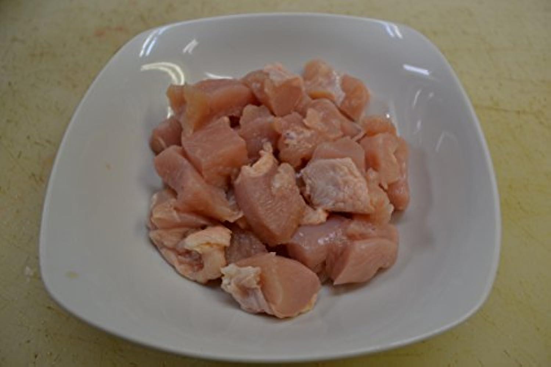 国産 鶏ムネ肉 コロコロ カット 肉 親子丼 雑煮用 鳥肉 (真空パック) 400g 【 ヘルシー タンパク 鶏肉 簡単 便利 チキン 業務用 にも 】