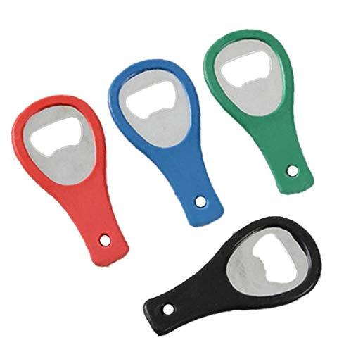 BYFRI 5pcs Mini-Tennis-schläger-Bierflasche-öffner-Werkzeug Gadgets Zubehör Cool Ring Schlüsselanhänger Korkenzieher Für Küchen Zufällige Farbe