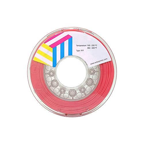 Eolas Prints | Filamento Flessibile 3D 100% TPU | Stampante 3D | Made in Europa, Adatto per uso alimentare e creazione giocattoli | 1,75mm | 1Kg | Coralo