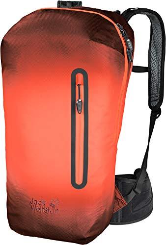 Jack Wolfskin Unisex 2008021 Halo-Action-Sportrucksack Überzug, wasserdicht, wasserblasenfertig, 100% PFC frei, 22 l, Corona Naranja, Standard
