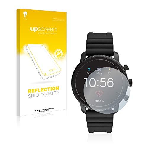 upscreen Entspiegelungs-Schutzfolie kompatibel mit Fossil Q Explorist HR (4.Gen) – Anti-Reflex Bildschirmschutz-Folie Matt