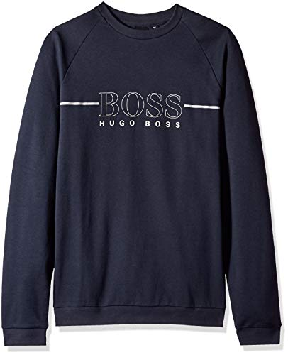 Hugo Boss Herren Tracksuit Sweatshirt, blau, Medium