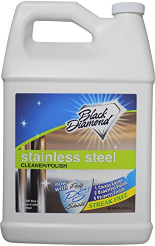 Polaco y limpiador de acero inoxidable mejor Streak libre limpia y brilla...
